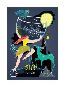 Gin Tonic, 2017 by Yuliya Drobova