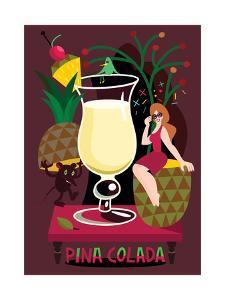 Pina Colada, 2017 by Yuliya Drobova