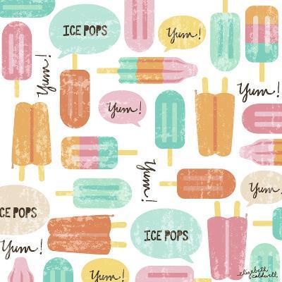 Yum Ice Pops-Elizabeth Caldwell-Giclee Print