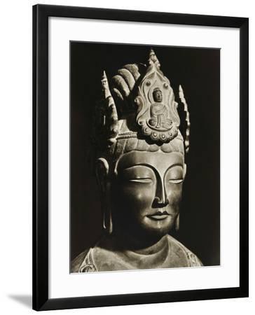 Yumechigai Kannon from the Early Nara Period, Horyuji, Nara, Japan, 1950--Framed Photographic Print