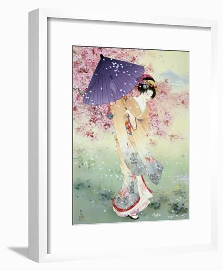 Yumezakura-Haruyo Morita-Framed Art Print