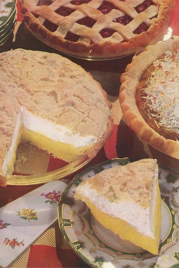 Yummy Pies--Art Print