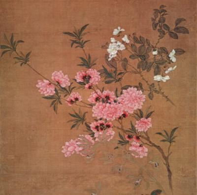 Cherry Blossoms and Wild Roses
