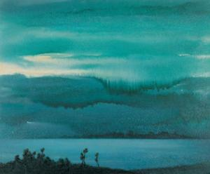Lake by Yunlan He