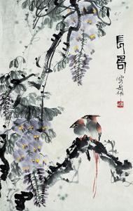 Flowers & Birds Series 11 by Yunyue Zhu