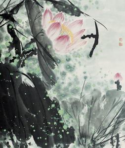 Lotus Series 15 by Yunyue Zhu