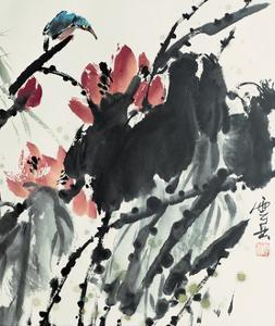 Lotus Series 20 by Yunyue Zhu
