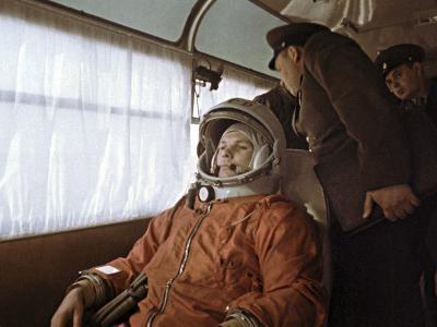 Yuri Gagarin Before Launch, 1961-Ria Novosti-Photographic Print