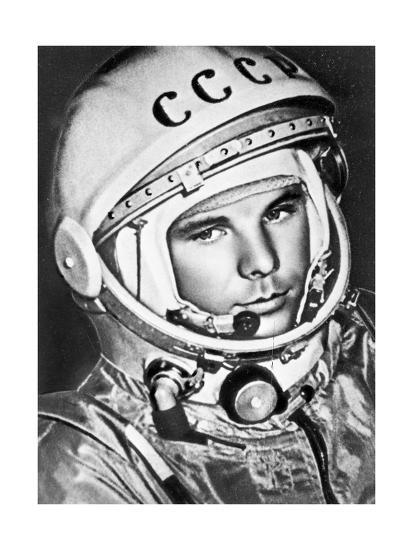 Yuri Gagarin, Russian Cosmonaut, 1961--Giclee Print