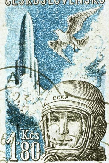 Yuri Gagarin, Soviet Russian Cosmonaut, 1961--Giclee Print