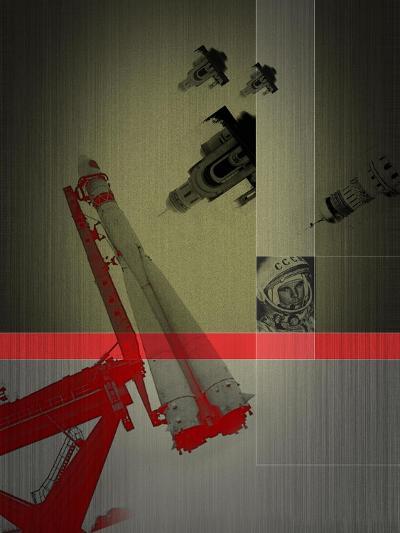 Yuri Gagarin-NaxArt-Art Print