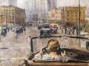 The New Moscow by Yuri Ivanovich Pimenov