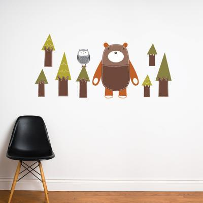 Yuri the Bear Wall Decal--Wall Decal
