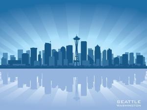 Seattle Skyline by Yurkaimmortal