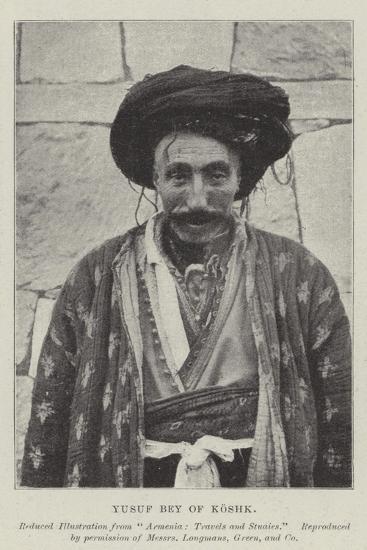 Yusuf Bey of Koshk--Giclee Print
