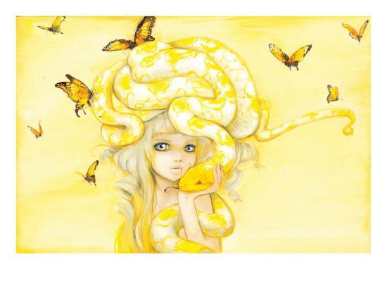 Yuuta-Camilla D'Errico-Art Print