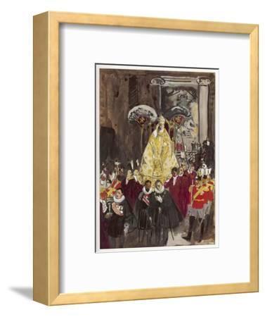 Pope in Procession