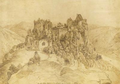 Aggstein Castle by Yves Klein
