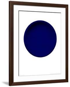 Blue Disk, c.1957 (IKB54) by Yves Klein