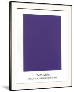 IKB65, 1960 by Yves Klein