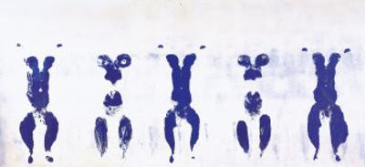 Untitled, Anthropometry, c.1960 (ANT100)