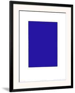 Untitled, Blue Monochrome, c.1961 (IKB73) by Yves Klein