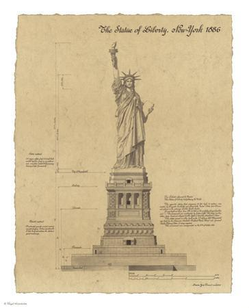 Statue of Liberty New York by Yves Poinsot