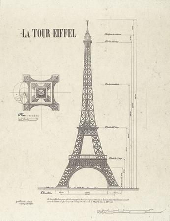 Tour Eiffel by Yves Poinsot