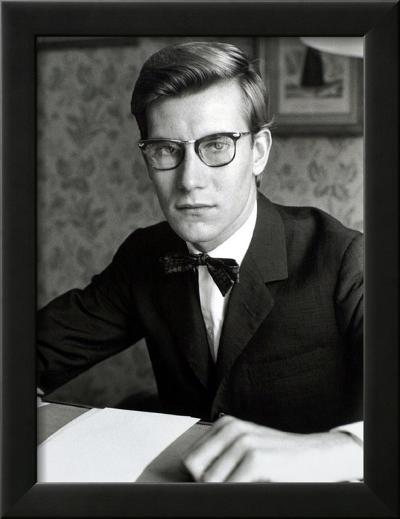 Yves Saint Laurent, July 1960-Luc Fournol-Framed Photographic Print