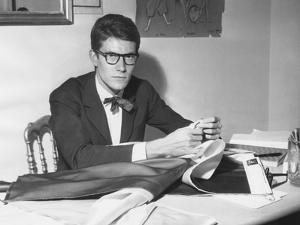 Yves Saint Laurent Opened His Couture Fashion House in Paris in 1961