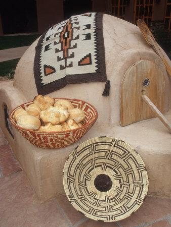 A Pueblo Bread Baking Oven Called an Horno