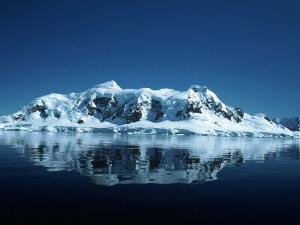 Glacier and Reflection, Paradise Bay, Antarctica by Yvette Cardozo