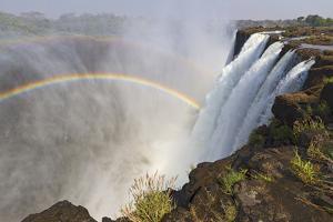 Victoria Falls, Zambia, Africa by Yvette Cardozo