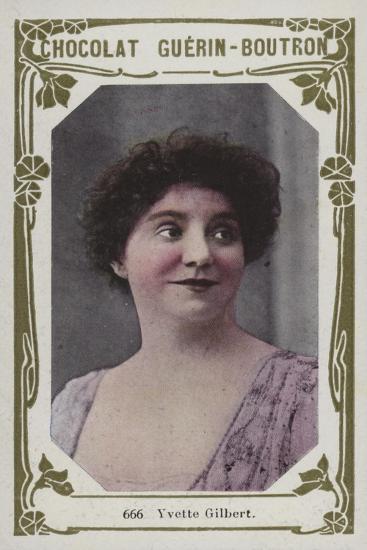Yvette Gilbert--Giclee Print