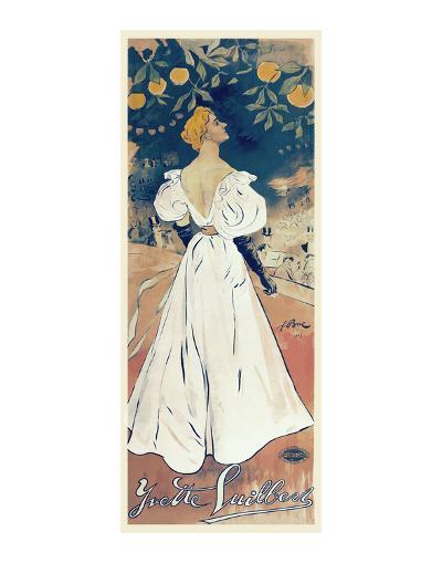 Yvette Guilbert-Ferdinand Bac-Art Print