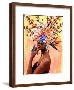 Luxurious Women in Bloom by Yvonne Coleman Burney
