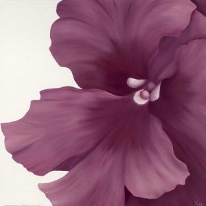 Violet Flower I by Yvonne Poelstra-Holzhaus