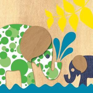 Elephant Family by Z Studio