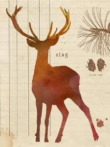 Forest Stag by Z Studio