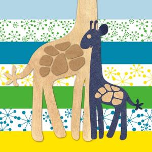 Giraffe Family by Z Studio