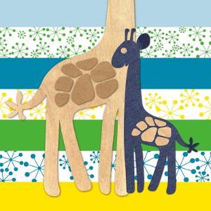 Giraffe Family by Z Studio