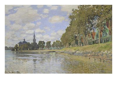 Zaandam, 1871-Claude Monet-Giclee Print