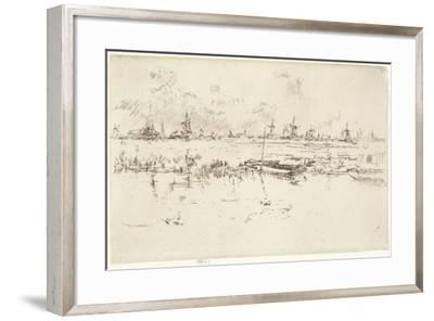 Zaandam, 1889-James Abbott McNeill Whistler-Framed Giclee Print