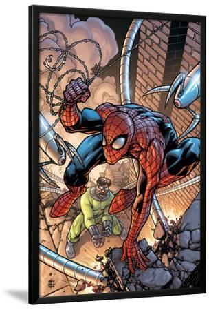 Marvel Adventures Spider-Man No.45 Cover: Spider-Man and Doctor Octopus