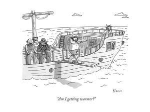 """Am I getting warmer?"" - New Yorker Cartoon by Zachary Kanin"