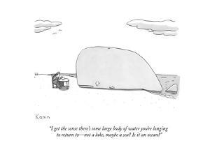 New Yorker Cartoon by Zachary Kanin