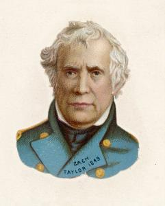 "Zachary Taylor Known as ""Old Rough-And-Ready"" American Soldier 12th Us President"