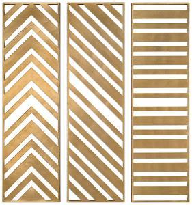 Zahara Gold Panel Set