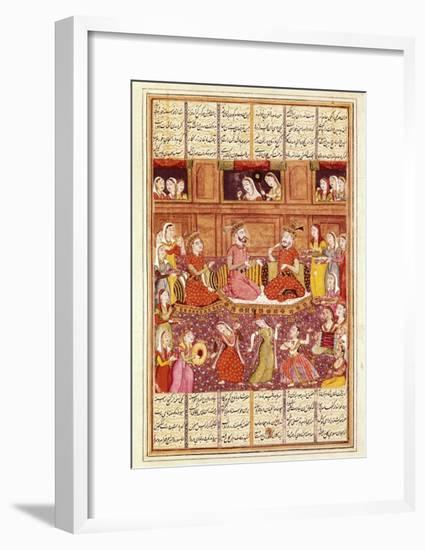 Zal Meets Mihrab of Kabul--Framed Art Print