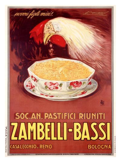 Zambelli-Bassi-Achille Luciano Mauzan-Giclee Print